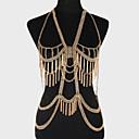 preiswerte Ringe-Körper-Kette / Bauchkette Einzigartiges Design, Party, Freizeit Damen Gold / Silber Körperschmuck Für Party