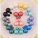 preiswerte Schmuck-Sets-Damen Schwarz Blau Grün Schwarz Blau Grün Ohrring - Perle Modisch Rosa / Hellblau / Dunkelgrün Für Alltag