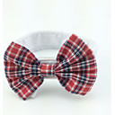 cheap Dog Clothing & Accessories-Cat Dog Tie/Bow Tie Dog Clothes Red Cotton Costume For Pets Men's Women's Wedding