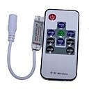 hesapli LED Şerit Işıklar-SENCART 2m Esnek LED Şerit Işıklar 120 LED'ler RGB Uzaktan Kontrol / Kesilebilir / Kısılabilir 12V / 5050 SMD / Bağlanabilir