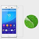 hesapli Sony İçin Ekran Koruyucuları-Ekran Koruyucu Sony için Sony Xperia M4 Aqua PET 1 parça Ultra İnce