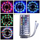 hesapli LED Şerit Işıklar-SENCART 5m Esnek LED Şerit Işıklar 300 LED'ler 3528 SMD RGB Kesilebilir / Bağlanabilir / Araçlar İçin Uygun 12 V 1pc / Kendinden Yapışkanlı
