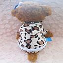 tanie Ubranka i akcesoria dla psów-Psy Bluza z Kapturem Ubrania dla psów Zwierzę Panterka Terylen Bawełna Mieszane materiały Kostium Na Zima