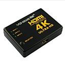 hesapli Ses ve Video Kabloları-yong 4 port wei® 3-1-out 4k × 2k ultra hd hdmi v1.4 3d switcher