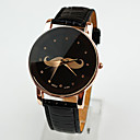 Buy Women's Watches British Style Mustache Red Leather Strap Watch Quartz Personality Cool Unique