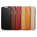 Χαμηλού Κόστους Θήκες iPhone-tok Για Apple iPhone 6 iPhone 6 Plus Ανοιγόμενη Πλήρης Θήκη Συμπαγές Χρώμα Σκληρή γνήσιο δέρμα για iPhone 6s Plus iPhone 6s iPhone 6 Plus