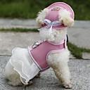 preiswerte Bekleidung & Accessoires für Hunde-Katze Hund Kleider Hundekleidung Urlaub Schleife Orange Dunkelblau Purpur Rot Rosa Kostüm Für Haustiere