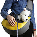 cheap Dog Supplies & Grooming-Cat Dog Carrier & Travel Backpack Shoulder Bag Pet Baskets Solid Portable Breathable Yellow Rose Green Blue Pink For Pets