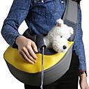 Недорогие Одежда и аксессуары для собак-Кошка Собака Переезд и перевозные рюкзаки Сумка Животные Корзины Однотонный Компактность Дышащий Желтый Розовый Зеленый Синий Розовый Для