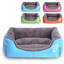 preiswerte Hundehalsbänder, Geschirre & Leinen-Katze Hund Betten Haustiere Matten & Polster Solide Wasserdicht Niedlich Orange Rose Grün Blau Für Haustiere