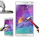 hesapli Samsung İçin Ekran Koruyucuları-Ekran Koruyucu için Samsung Galaxy Note 3 Temperli Cam Ön Ekran Koruyucu Parmak İzi Yapmayan