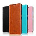 저렴한 Nokia 케이스 / 커버-케이스 제품 노키아 루미아 640 Nokia 노키아 케이스 스탠드 플립 전체 바디 케이스 한 색상 하드 진짜 가죽 용 Nokia Lumia 640 XL
