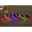 preiswerte Hundehalsbänder, Geschirre & Leinen-Hund Halsbänder LED-Lampen Wasserdicht Zebra Nylon Gelb Rot Grün Blau Rosa