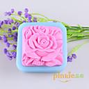 hesapli iPhone 5 Serisi Kılıfları-çiçek şeklinde sabun kalıpları kalıp fondan kek çikolata silikon kalıp, dekorasyon araçları bakeware Mooncake