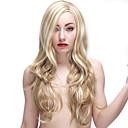ieftine Machiaj & Îngrijire Unghii-Peruci Sintetice Ondulat / Clasic Stil Fără calotă Perucă Păr Sintetic Pentru femei Perucă