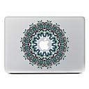 hesapli Mac Stickerlar-1 parça için Çizilmeye Dayanıklı Çiçek Tema MacBook Air 13''