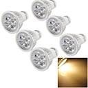 رخيصةأون اكسسوارات LED-YouOKLight 400 lm GU10 LED ضوء سبوت A50 4 الأضواء طاقة عالية LED تخفيت ديكور أبيض دافئ أس 110-130V