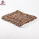 preiswerte iPhone-Aufkleber-Betten Haustiere Matten & Polster Tragbar / Leopardenmuster Baumwolle / Stoff / Polar-Fleece braun