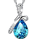 cheap Necklaces-Women's Vintage Necklace - Sterling Silver Drop Fashion Navy Necklace Jewelry For Daily, Casual, Sports