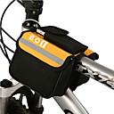 رخيصةأون حقائب الدراجة-BOI 1.9 L حقيبة الهاتف الخليوي حقيبة المقود للدراجة مقاوم للماء يمكن ارتداؤها مقاومة الهزة حقيبة الدراجة قماش 600 ] ريبستوب حقيبة الدراجة حقيبة الدراجة iPhone X / iPhone XR / iPhone XS أخضر / الدراجة