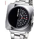 Buy 3 one Hand Display Silver Steel Band Quartz Watches Men Luxury Brand Fashion Casual Army Military Watch Wrist Cool Unique