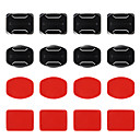 cheap Accessories For GoPro-Curved Adhesive Pads Flat Adhesive Pads Adhesive Mounts Mount / Holder All in One For Action Camera All Gopro Gopro 5 Gopro 4 Black Gopro