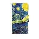 Недорогие Кейсы для iPhone-Кейс для Назначение Apple iPhone 7 Plus iPhone 7 Бумажник для карт Кошелек со стендом Флип Чехол Цвет неба Пейзаж Твердый Кожа PU для