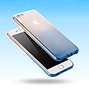 baratos Áudio e Vídeo-Capinha Para iPhone 5 / Apple Capinha iPhone 5 Transparente Capa traseira Cores Gradiente Macia TPU para iPhone SE / 5s / iPhone 5
