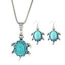 preiswerte Ohrringe-Kristall Glasperlen Schmuck-Set - Türkis nette Art Einschließen Blau Für Party / Geburtstag / Verlobung / Ohrringe / Halsketten