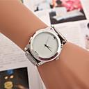 preiswerte Damenuhren-Damen Modeuhr Kleideruhr Armbanduhr Quartz Legierung Band Charme Schmetterling Silber - Weiß Schwarz Gelb