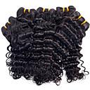 hesapli Makyaj ve Tırnak Bakımı-Düz Brezilya Saçı Derin Dalga Virgin Saç İnsan saç örgüleri İnsan saç örgüleri İnsan Saç Uzantıları