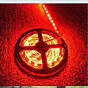 ieftine Lumini Nocturne LED-5m 600 LED-uri 3528 SMD Roșu Ce poate fi Tăiat / Reîncărcabil / Rezistent la apă 12 V / IP65 / Auto- Adeziv