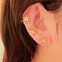 preiswerte Ohrringe-Damen Ohr-Stulpen - Strass Blume, Gänseblümchen Für Party / Alltag