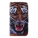 voordelige Galaxy Note-serie hoesjes / covers-hoesje Voor Samsung Galaxy Samsung Galaxy hoesje Kaarthouder Portemonnee met standaard Flip Patroon Volledig hoesje dier PU-nahka voor J5