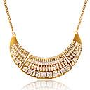 preiswerte Halsketten-Damen Hohl Statement Ketten - Europäisch Silber, Golden Modische Halsketten Für Party, Alltag, Normal