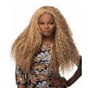 preiswerte Make-up & Nagelpflege-Synthetische Perücken Locken Blond Synthetische Haare Blond Perücke Damen Lang Kappenlos Blondine