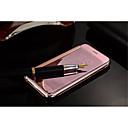 hesapli Fırın Araçları ve Gereçleri-Pouzdro Uyumluluk iPhone 5 / Apple iPhone 5 Kılıf Kaplama / Flip / Şeffaf Tam Kaplama Kılıf Solid Yumuşak TPU için iPhone SE / 5s / iPhone 5