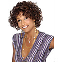 ieftine Gadget Baie-Peruci Sintetice Buclat Stil Fără calotă Perucă Maro Maro Păr Sintetic Pentru femei Perucă Americană Africană Maro Perucă Scurt Halloween Wig