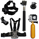 cheap Laptop Bags & Backpacks-Accessory Kit For Gopro Waterproof Floating 6 pcs For Action Camera Gopro 6 Gopro 5 Xiaomi Camera Gopro 4 Gopro 4 Session Diving Surfing Ski / Snowboard Plastic Fiber Carbon / Gopro 3+ / Gopro 3