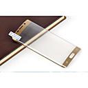 hesapli iPhone Kılıfları-Ekran Koruyucu Samsung Galaxy için S6 edge plus PET Ön Ekran Koruyucu Parmak İzi Yapmayan