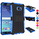 cheap Galaxy S Series Cases / Covers-Case For Samsung Galaxy Samsung Galaxy Case Shockproof / with Stand Back Cover Armor PC for S8 Plus / S8 / S6 edge plus
