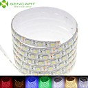 cheap RGB Strip Lights-SENCART 5m 300 LEDs SMD5050 Warm White / Cold White / Natural White Waterproof / Decorative 12 V 1pc