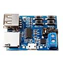 hesapli Araba İç Işıklar-ses çalar çözme tf kart u disk mp3 formatında dekoder kurulu modülü amplifikatör