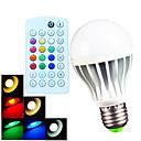 hesapli LED Bi-pin Işıklar-700 lm E26/E27 B22 LED Küre Ampuller A60(A19) 15 led SMD 5730 Kısılabilir Dekorotif Uzaktan Kumandalı Sıcak Beyaz Serin Beyaz Doğal Beyaz