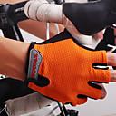 baratos Luvas para Ciclismo >-Nuckily Luvas Esportivas Luvas de Ciclismo Permeável á Humidade / Vestível / Respirável Sem Dedo Náilon Corridas / Ciclismo / Moto /