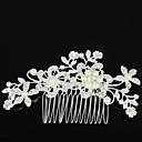 ieftine Bijuterii de Păr-Pentru femei Elegant Zirconiu Ștras Aliaj Piepteni de Păr Nuntă Petrecere