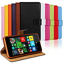 cheap Cases / Covers for Nokia-Case For Nokia Lumia 820 / Nokia Lumia 1020 / Nokia Lumia 625 Nokia Case Wallet / Card Holder / with Stand Full Body Cases Solid Colored Hard PU Leather for Nokia Lumia 640 XL