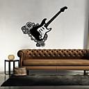hesapli diğer Yenilik-Şekiller Müzik Duvar Etiketler Uçak Duvar Çıkartmaları Dekoratif Duvar Çıkartmaları, Vinil Ev dekorasyonu Duvar Çıkartması Duvar