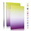 hesapli Bilezikler-Pouzdro Uyumluluk iPad 4/3/2 Origami Tam Kaplama Kılıf Renkli Gradyan PU Deri için iPad 4/3/2