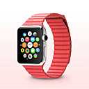 tanie Etui do iPhone-Watch Band na Apple Watch Series 3 / 2 / 1 Apple Bransoletka skórzana Skóra naturalna Opaska na nadgarstek
